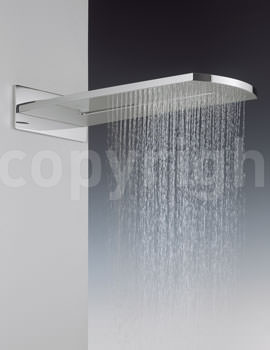Crosswater Elite Rectangular Fixed Overhead Shower