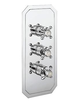 Crosswater Belgravia Crosshead Shower Valve With 3 Control