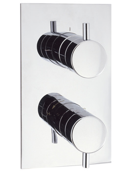 Crosswater Kai Lever Thermostatic Recessed Shower Valve With 3 Way Diverter
