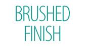 Brushed Steel Finish