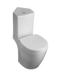 Ideal Standard Concept Space Close Coupled WC And Corner Cistern