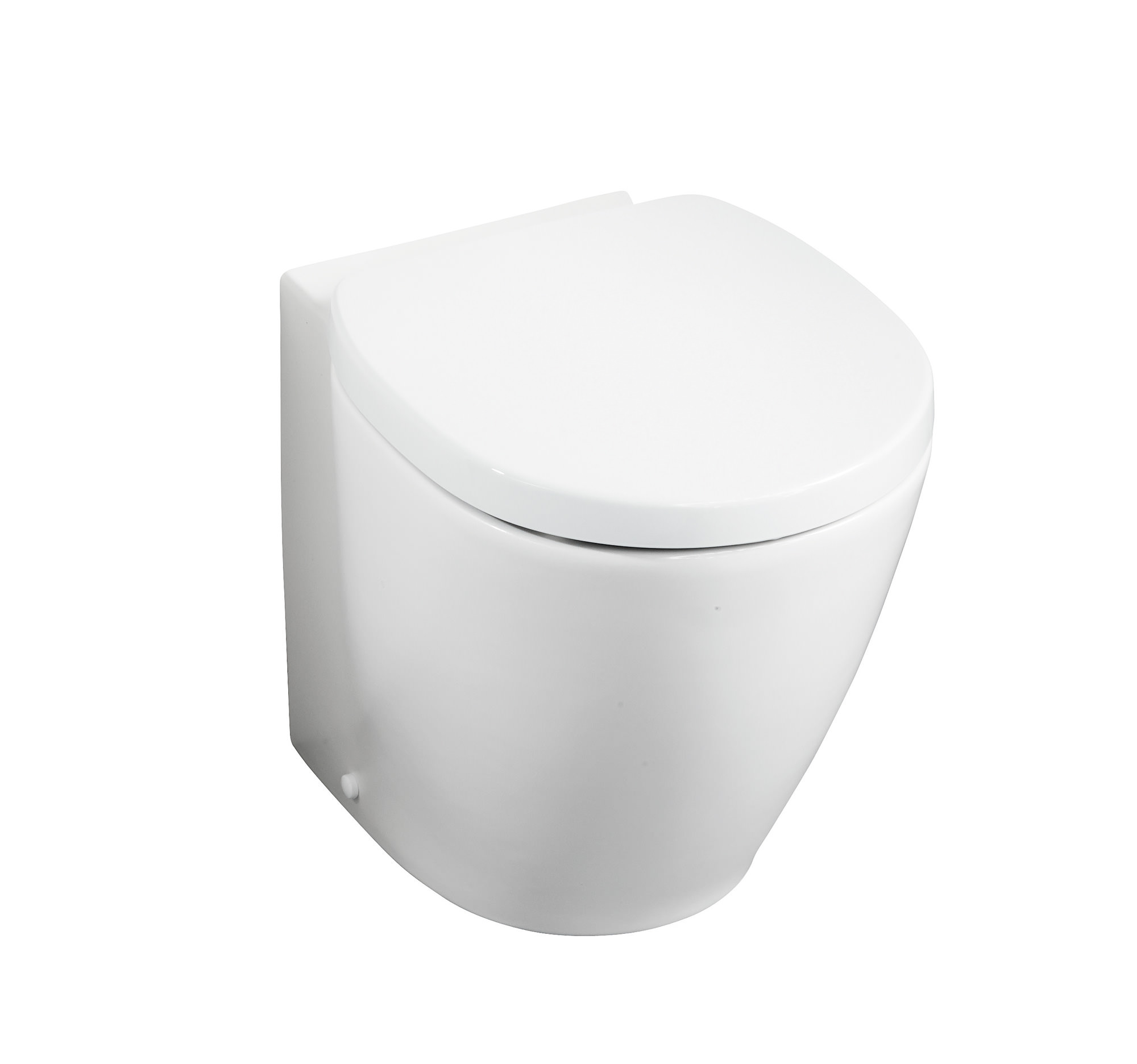 Ideal standard concept space compact back to wall wc pan - Small toilets for tight spaces concept ...