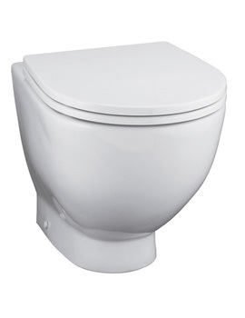 Ideal Standard White Back To Wall WC Pan 530mm