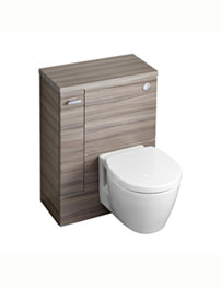 Ideal Standard Concept Space 600mm WC Unit With LH Storage Cupboard - Elm