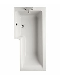 Ideal Standard Concept Idealform Plus Square 1700mm Shower Bath Left Hand