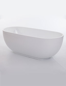 Royce Morgan Black Opal Double Ended Freestanding Bath 1790 x 820mm