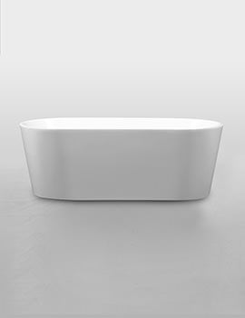 Royce Morgan Black Ruby Freestanding Double Ended Bath 1580 x 740mm