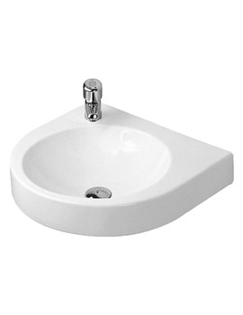 Duravit Architec 575mm Washbasin With Pre-Punched Taphole