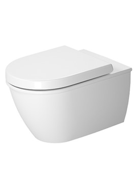 Duravit Darling New 370 x 540mm Wall Mounted Rimless Toilet