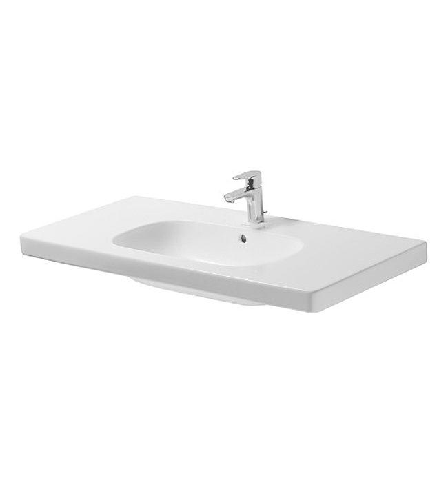 Duravit D Code White Alpin 1 Taphole 1050 X 480mm