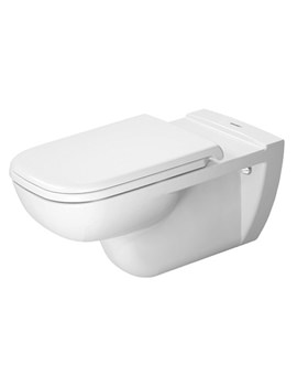 Duravit D-Code White 360 x 700mm Wall Mounted Toilet