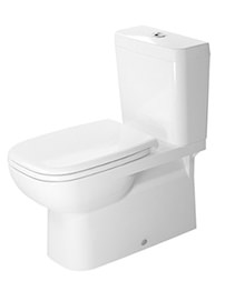 Duravit D-Code 695mm Close Coupled Toilet And Cistern With Seat
