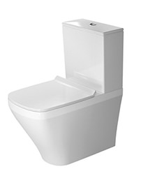 Duravit DuraStyle 630mm Close Coupled Toilet With Cistern