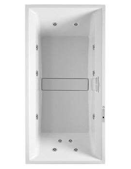 Duravit 2nd Floor 2000 x 1000mm Bath With Combi System E