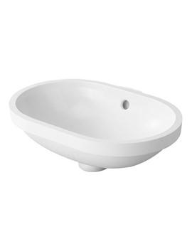 Duravit Bathroom Foster White 430 x 280mm Undercounter Vanity Basin
