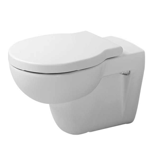 duravit bathroom foster white alpin wall mounted 570mm toilet. Black Bedroom Furniture Sets. Home Design Ideas
