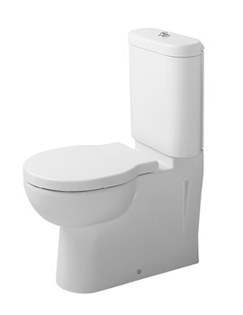 Duravit Bathroom Foster 660mm Close Coupled Toilet With Cistern