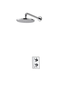 Aqualisa Dream DCV Concealed Mixer Shower With Wall Fixed Head