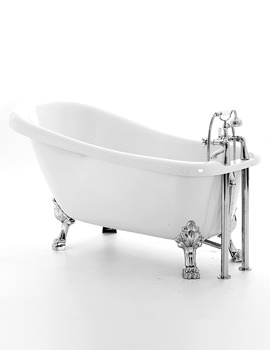 Royce Morgan Chatsworth 1530 x 710mm Traditional Freestanding Bath