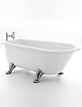 Royce Morgan Chillingham 1665 x 750mm Traditional Freestanding Bath