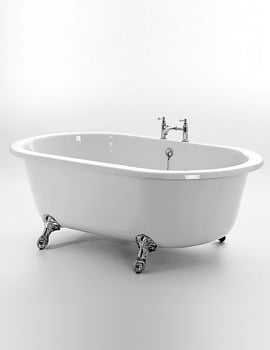 Royce Morgan Hampton 1765 x 960mm Traditional Freestanding Bath