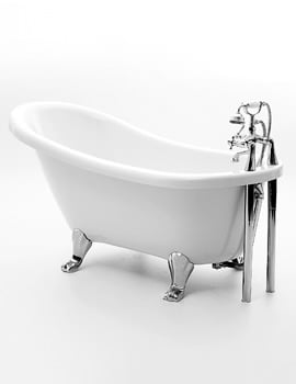 Royce Morgan Eton 1500 x 730mm Traditional Freestanding Bath