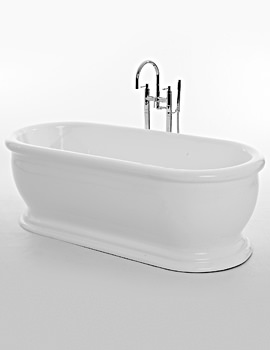 Royce Morgan Aldo 1745 x 790mm Traditional Freestanding Bath