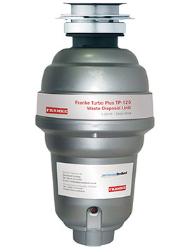Franke Turbo Plus TP-125 Continuous Feed Waste Disposal Unit