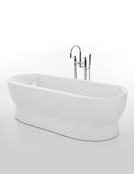 Royce Morgan Camber 1800 x 795mm Double Ended Freestanding Bath