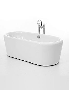 Royce Morgan Bamburgh Double Ended Freestanding Bath 1770 x 795mm