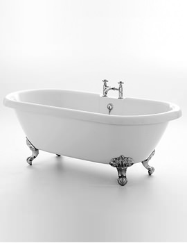 Royce Morgan Kensington 1695 x 740mm Traditional Freestanding Bath