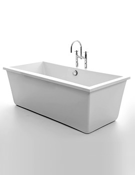 Royce Morgan Iona 1750 x 800mm Freestanding Double Ended Bath