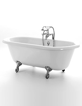 Royce Morgan Windsor Double Ended Freestanding Bath 1670 x 750mm