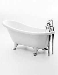 Royce Morgan Oakley 1600 x 720mm Freestanding Slipper Bath With Feet