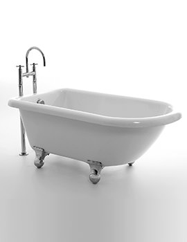 Royce Morgan Orlando 1505 x 770mm Single Ended Freestanding Bath With Feet