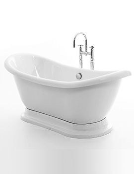 Royce Morgan Melrose 1700 x 700mm Freestanding Bath With Plinth
