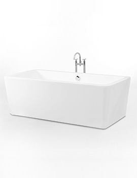 Royce Morgan Althorp 1750 x 750mm Double Ended Freestanding Bath