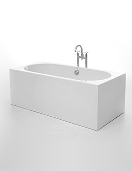 Royce Morgan Barnard 1690 x 800mm Double Ended Freestanding Bath