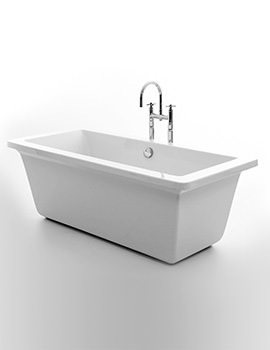 Royce Morgan Hexham 1690 x 760mm Double Ended Freestanding Bath