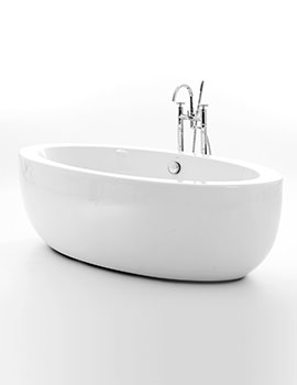 Royce Morgan Westminster 1860 x 880mm Double Ended Freestanding Bath
