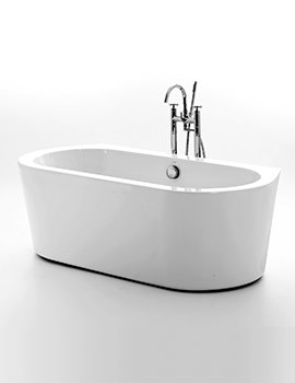 Royce Morgan Woburn Double Ended Freestanding Bath 1675 x 780mm