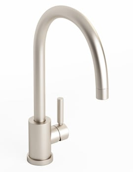 Abode Atlas Single Lever kitchen Tap Chrome