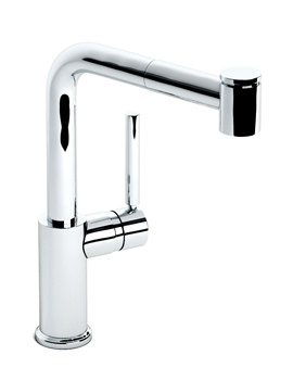 Abode Aurora Pull Out Single Lever Kitchen Mixer Tap - AT1202