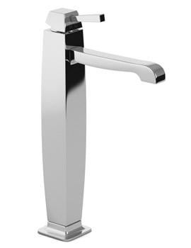 Abode Decadence Tall Basin Mixer Tap With Pop Up Waste