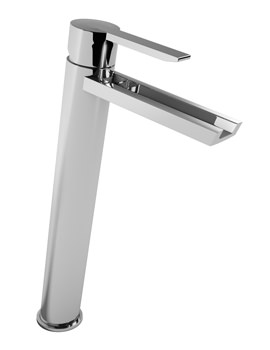 Abode Desire Monobloc Tall Basin Mixer Tap Chrome