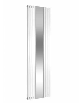 Reina Reflect White Steel Designer Radiator 445 x 1800mm