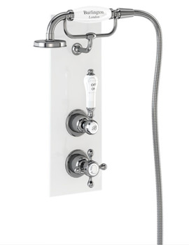 Burlington Trent Concealed Single Outlet Thermostatic Valve With Cradle