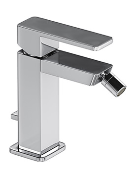 Abode Fervour Chrome Single Lever Bidet Tap With Pop Up Waste