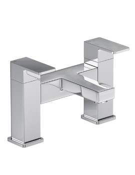 Abode Fervour Deck Mounted Chrome Bath Filler Tap