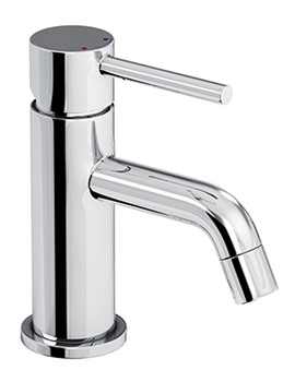 Abode Harmonie Monobloc Mini Basin Mixer Tap Chrome